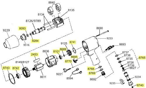 2141-TK1 T/U Kit equivalent.