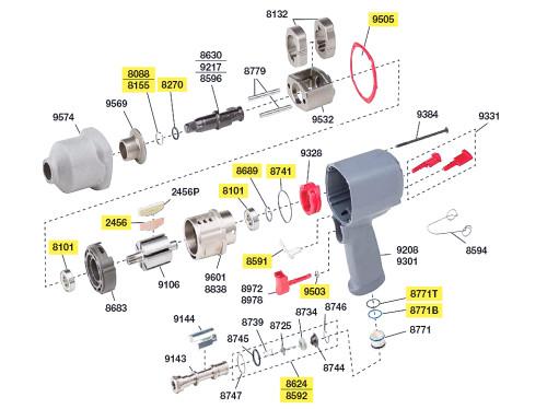 2135-TK2 T/U Kit equivalent.