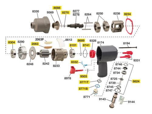 2235-TK1 T/U Kit equivalent