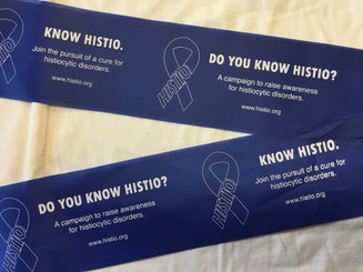Tie a Blue Ribbon for Histio Campaign Ribbon - Qty 5