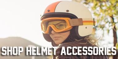 Shop Motorcycle Helmet Accessories