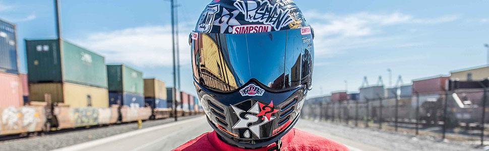 Simpsonjpgt - Custom motorcycle helmet stickers and decalssimpson motorcycle helmets