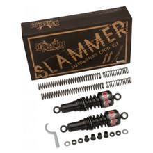 Burly Brand - Black Slammer Suspension Lowering Kit - fits '04-'12 Sportster