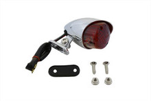 Hi-Glide Bullet Style Tail Lamp - Chrome