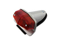 Motorcycle Lucas Style Small Tail Light Cafe Racer - Aluminum