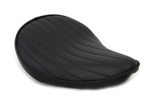 V-Twin - Bates Style Tuck and Roll Solo Seat - Thin