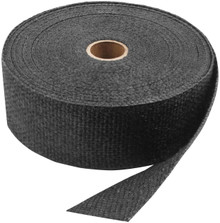 "Twin Power - 2"" x 50' Exhaust Header Wrap - Black"