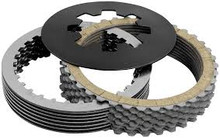 Belt Drives LTD. Kevlar Clutch Kit fits: L'84 - '89 Big Twin