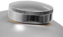 Paughco - Long Skirted Cam Style Gas Cap  Thin Knurling
