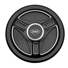 S&S - Stealth Air Cleaner Cover - Tri-Spoke