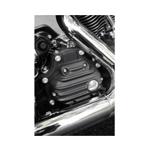 EMD - Ribbed Transmission Cover fits Big Twin '07-Up & '06 & Up Dyna - Black