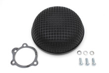 V-Twin - Round Mesh Air Cleaner - Black