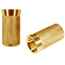 Speed Merchant - Speed Shifter Peg - Gold Anodized - Fits: HD shift levers with 5/16åÎå_Ì___-24 thread