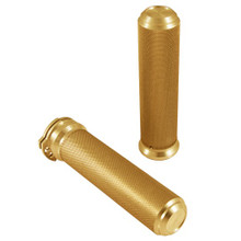 "Speed Merchant -  1"" Speed Grips - Gold - Fits '84-'15 HD Models"