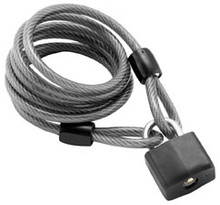 Bully Locks - Padlock with Cable