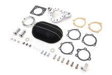 V-Twin - Air Cleaner Assembly Kit Black - Fits XL '91-Up