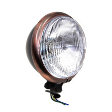 "V-Twin - Black Headlamp 5-3/4"""