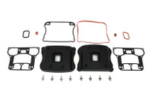 V-Twin - Blacked Out Rocker Box Cover Set fits '07-'12 XL Sportster