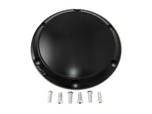 V-Twin - 6-Hole Black Derby Cover fits '04-UP XL Sportster