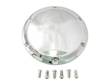 V-Twin - 6-Hole Chrome Derby Cover fits '04-UP XL Sportster