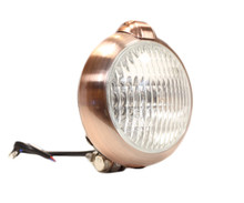 "Unity Style 5"" Copper Headlight - Clear Lens"