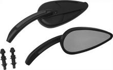 HardDrive - Vintage Style Custom Die Cast Mirror - Black