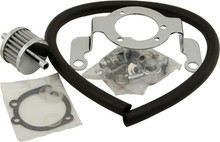 HardDrive - Air Cleaner Bracket/Breather Kit - Fits '93-'99 Big Twins