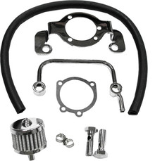 HardDrive - Air Cleaner Bracket/Breather Kit - Fits '07-Up XL Models