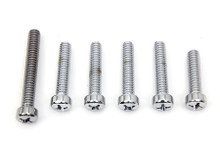 V-Twin - Cam Cover Screw Set - Chrome (Fitment listed in description)