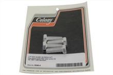Colony - Tappet Block Screw Kit - Cadmium fits '57-'85 XL