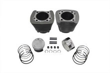 V-Twin - 883-1200cc Cylinder and Piston Conversion Kit fits '86-'03 XL - Silver