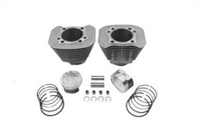 V-Twin - 1200cc Cylinder and Piston Conversion Kit fits '04-Up XL - Silver
