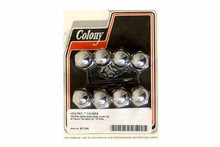 Colony - Acorn Headbolt Cover Kit - Chrome fits '73-'84 XL