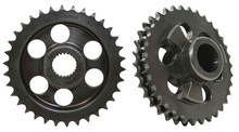 Evolution Industries - 34 Tooth Motor Sprocket - fits '06-'10 Dyna, '07-'10 Big Twin
