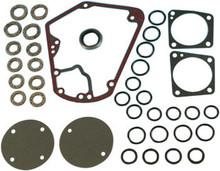 James Gaskets - Cam Quick Change Gasket Seal Kit Metal w/ Bead - fits '70-'92 FLT, FXR, Softail