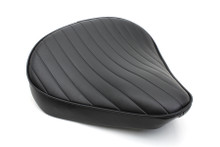 V-Twin - Bates Style Large Tuck and Roll Solo Seat - Thick