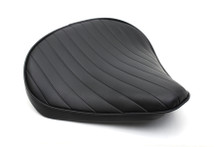 V-Twin - Bates Style Large Tuck and Roll Solo Seat - Thin