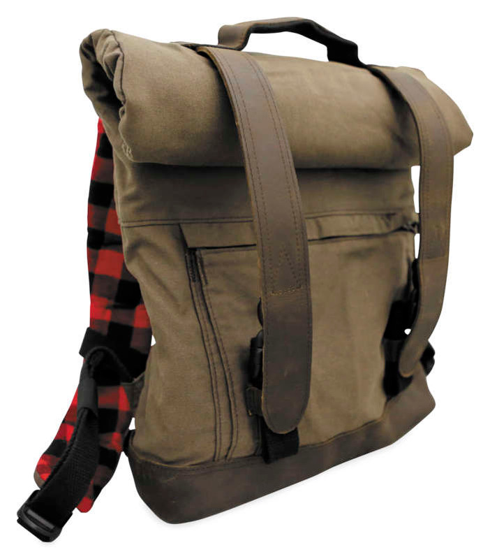 Burly Brand - Roll Top Backpack