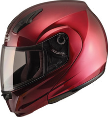 GMAX - MD04 Modular Motorcycle Helmet - Wine Red