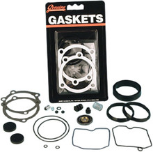 James Gaskets - Carb Rebuild Kit - fits All Keihin CV Carbs '90-Up