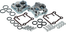 James Gaskets - Gasket Kit, Tappet Cover-Pushrod Tube - fits '99-Up Twin Cam