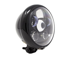 "Motorcycle Supply Co. - LED 5 3/4"" Headlight - Black"
