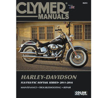 Clymer - Manual for '11-'16 Harley Davidson FLS,FXS,FXC Softail Series