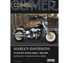 Copy of Clymer - Manual for '06-'09 Harley Davidson FLS,FXS,FXC Softail Series