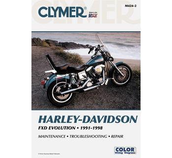 Clymer - Manual for '91-'98 Harley Davidson Dyna Evolution