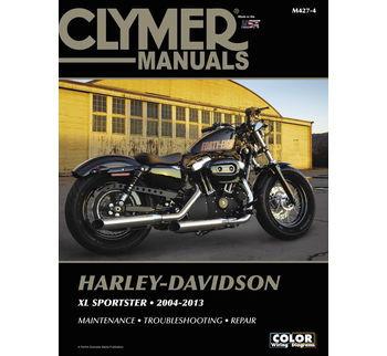 Clymer - Manual for '04-'13 Harley Davidson XL Sportster