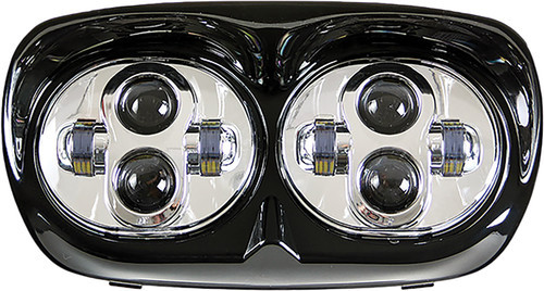 Pathfinder - Road Glide LED Headlight - Black or Chrome