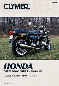 Clymer - Honda CB750 Service Manual - CB750K 1969-1978, CB750A 1976-1978, CB750F 1975-1978