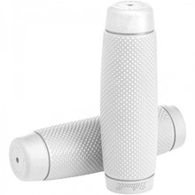 "Biltwell Recoil  7/8"" Grips White"