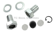 TC Bros Choppers - Breather Bolts For 91-UP Sportster & EVO Big Twin